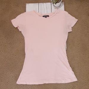 🆕️Item 🏷10/$25 Womens Light Pink Short Sleeve